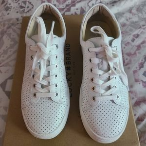 Vince Camuto white sneakers